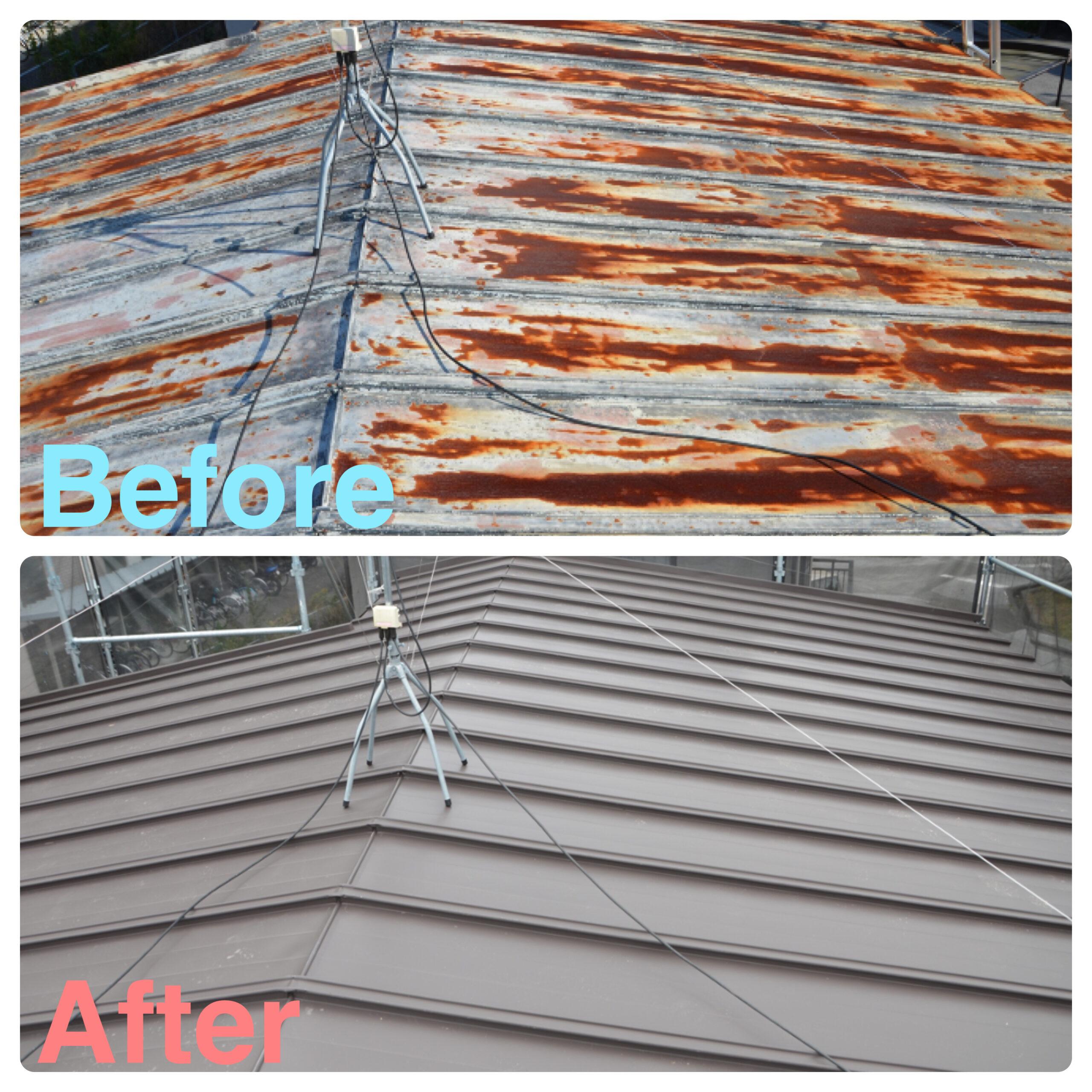仙台市 屋根葺き替え&外壁塗装