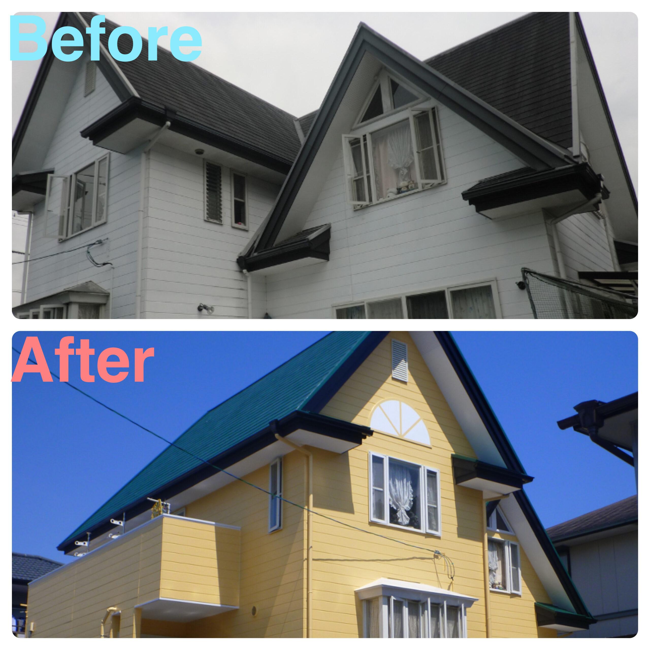 仙台市 外壁•屋根塗装 T様